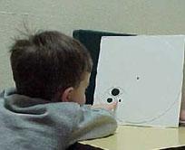 Child undergoing assessment